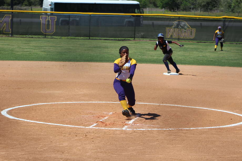 Prairie View A&M sophomore Ashley Higgins has thrown two no-hitters and two one-hitters since March 20.
