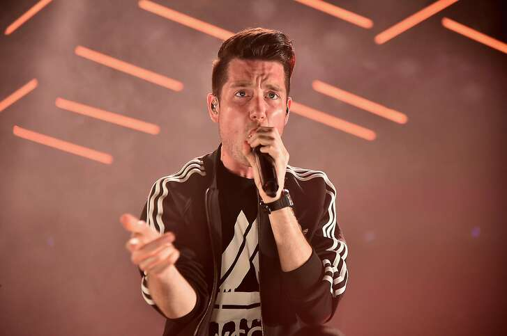 NEW YORK, NY - MARCH 30:  Dan Smith of Bastille performs at Barclays Center of Brooklyn on March 30, 2017 in the Brooklyn borough of New York City.  (Photo by Theo Wargo/Getty Images)