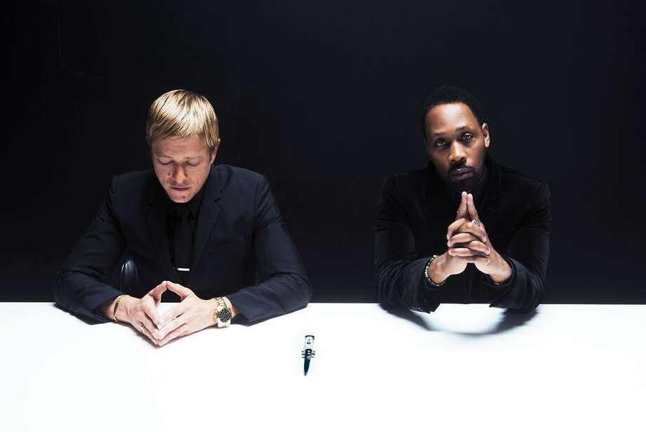 Banks and Steelz: Interpol's Paul Banks and Wu-Tang Clan's RZA Photo: Atiba Jefferson, Warner Bros.
