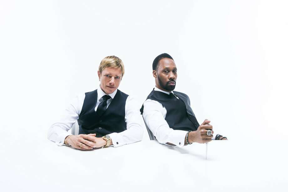 Banks and Steelz: Interpol's Paul Banks and Wu-Tang Clan's RZA Photo: Atiba Jefferson, Warner Bros.