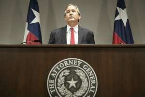 Texas Attorney General Ken Paxton, seen in this May 25, 2016 file photo, is facing two first-degree felony securities fraud charges and a third-degree felony charge of failing to register with the state as an investment adviser. His first trial is set for Sept. 12 in Houston.