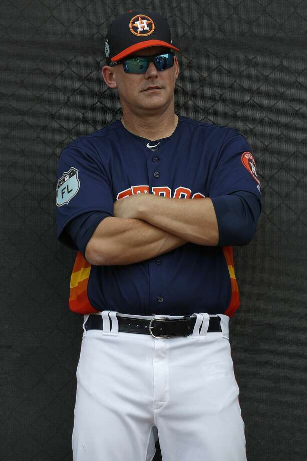 Astros manager A.J. Hinch was profoundly influenced by the four seasons he spent at Stanford from 1993 to 1996. Photo: Karen Warren/Houston Chronicle