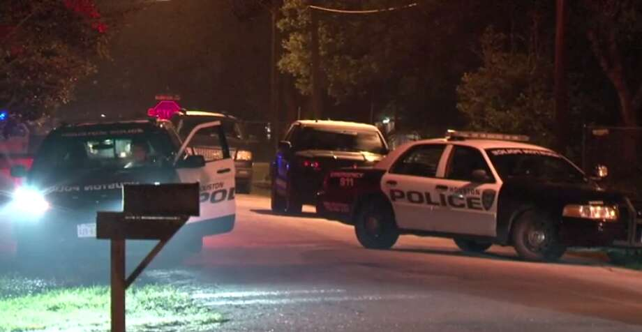 A man faces a charge of aggravated assault with a deadly weapon, after a SWAT team had to be called in to remove him from him southwest Houston house. (Metro Video) Photo: Metro Video