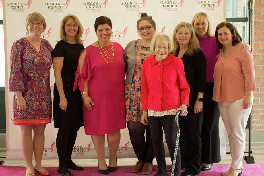 Were you Seen at the Susan G. Komen 23rd Annual Survivors' Luncheon onSaturday, April 8, 2017 at the Holiday Inn Saratoga Springs?  Photo: Mary Silver