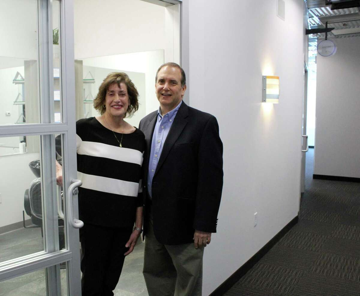 Westport couple, Holly and Rich Bobrow, opened their second Sola Salons Studio in Wilton at 5 River Road.