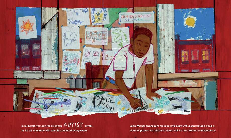 """from """"Radiant Child"""" by Javaka Steptoe Photo: Little, Brown Books For Young Readers"""
