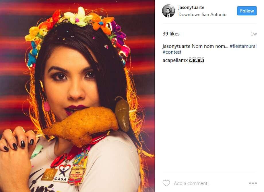 jasonytuarte: Nom nom nom... #fiestamural #contest Photo: Instagram.com