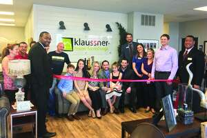 Custom Concepts by Klaussner hosted an open house and ribbon cutting ceremony Monday at its recently-acquired location on Center Grove Road at 159. Owner Zack Johnson celebrated with family, friends, local business owners and members of the Edwardsville/Glen Carbon Chamber of Commerce. The store is now officially open for business.