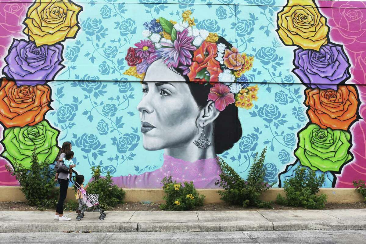 The new project features works from five San Antonio artists.