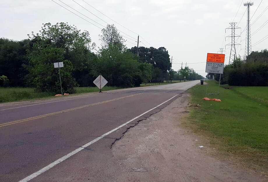 Roadwork begins on a BetterStreets2Neighborhoods project in the Crosby and Highlands area. Photo: Courtesy Of Harris County Precinct 2 Facebook