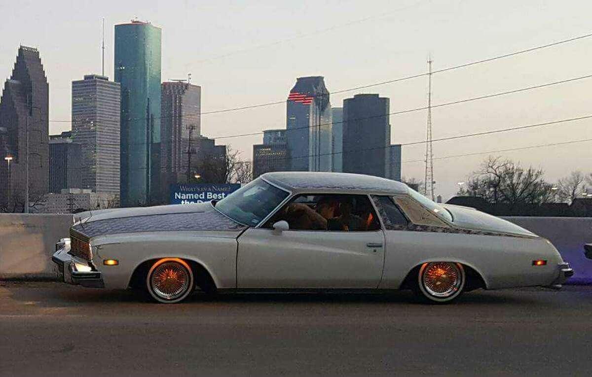 Gilbert Flores' lowrider car.