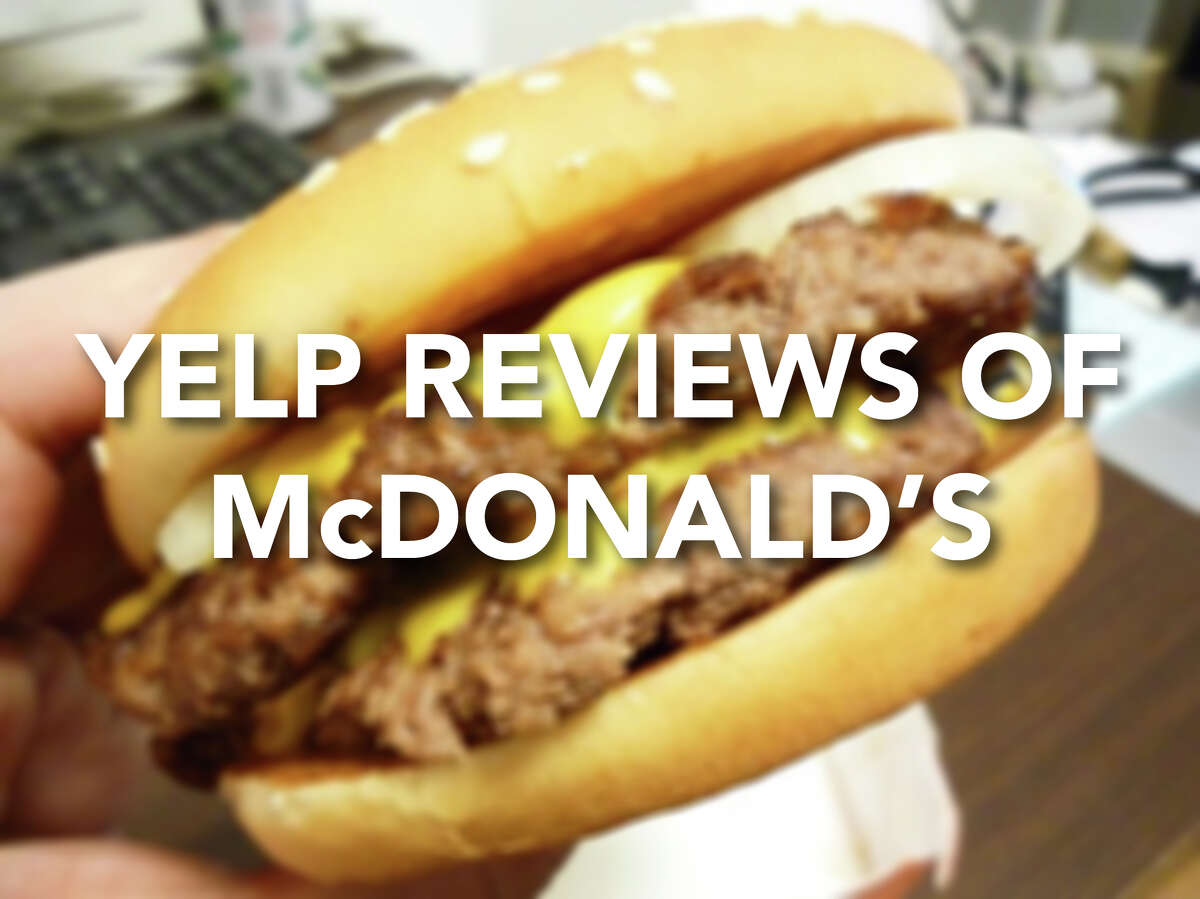 Click through to see Yelp reviews left by McDonald's patrons around the country.