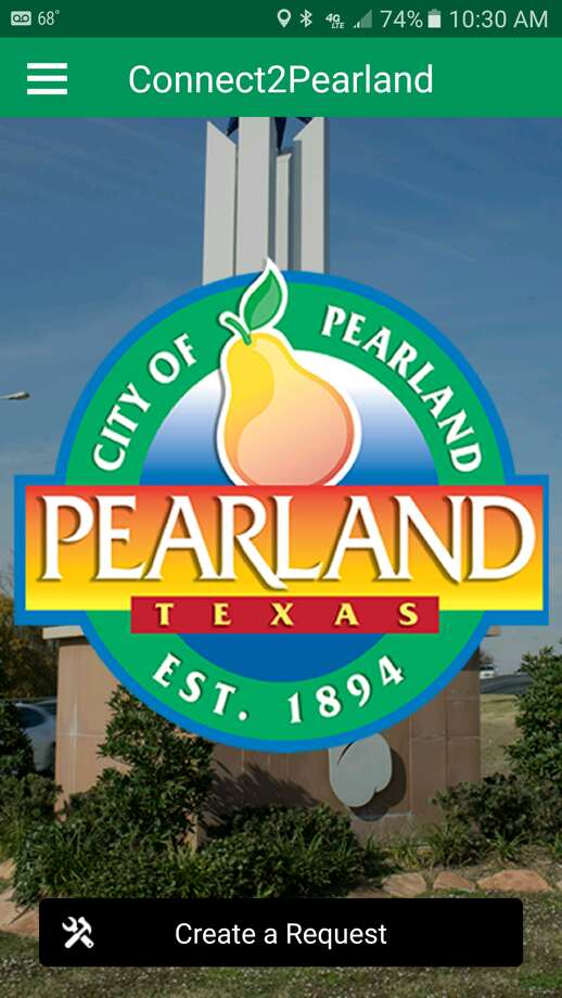 The Connect2Pearland app is free and available on Apple and Android products. Photo: City Of Pearland