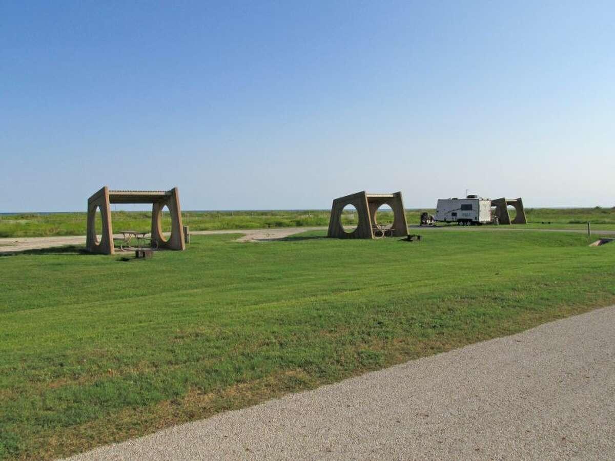 Galveston Island State Park Galveston Availability: Zero campsites available between March 15-18