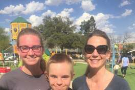 WDSD: Cammie Stokes, from left, Adley Stokes and Kim Stokes