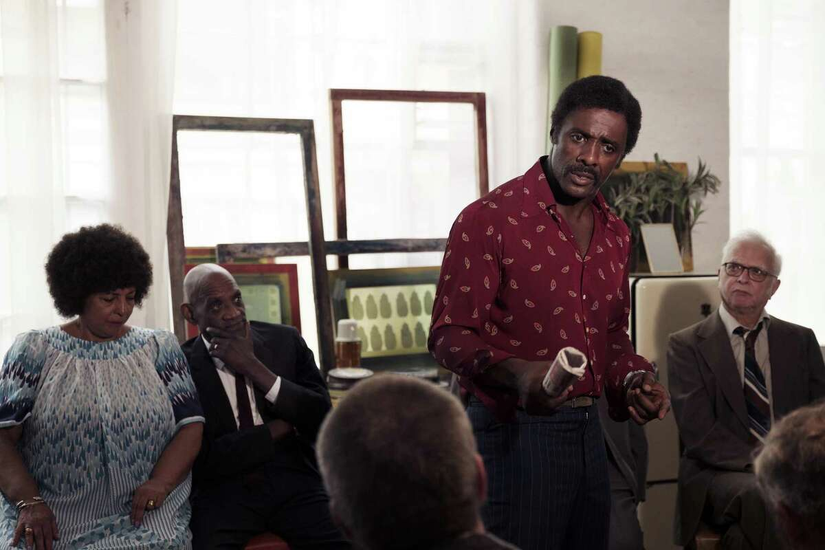 "Idris Elba as Kent in ""Guerrilla."""