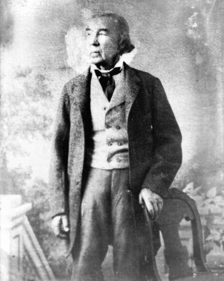 This is the only known photo of Tejano statesman José Antonio Navarro (1795-1871). A leading participant in the Texas Revolution, Navarro became one of three Mexican signers of the Texas Declaration of Independence. He later served as the sole Hispanic delegate to the Convention of 1845, supporting the annexation of Texas to the United States. In 1855, he helped organize fellow Mexico Texans against the Know-Nothing political party, which believed that only Protestant, native-born Americans should be allowed to run for office, among other intolerant views.