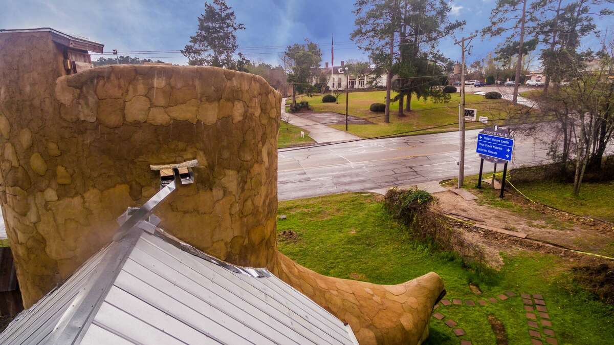 Dan Phillip's Cowboy boot-shaped home made of reclaimed materials is now on the market for $1,200 a month.