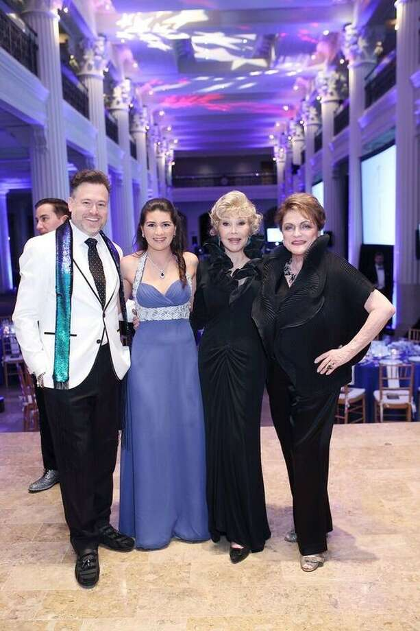 Beth Wolff (right) of Beth Wolff Realtors Real Living posed with other leaders of the recent Denali Foundation Gala including (left to right) co-chair Gregg Harrison, Sequoia Di Angelo and honorary chair Joann King Herring.