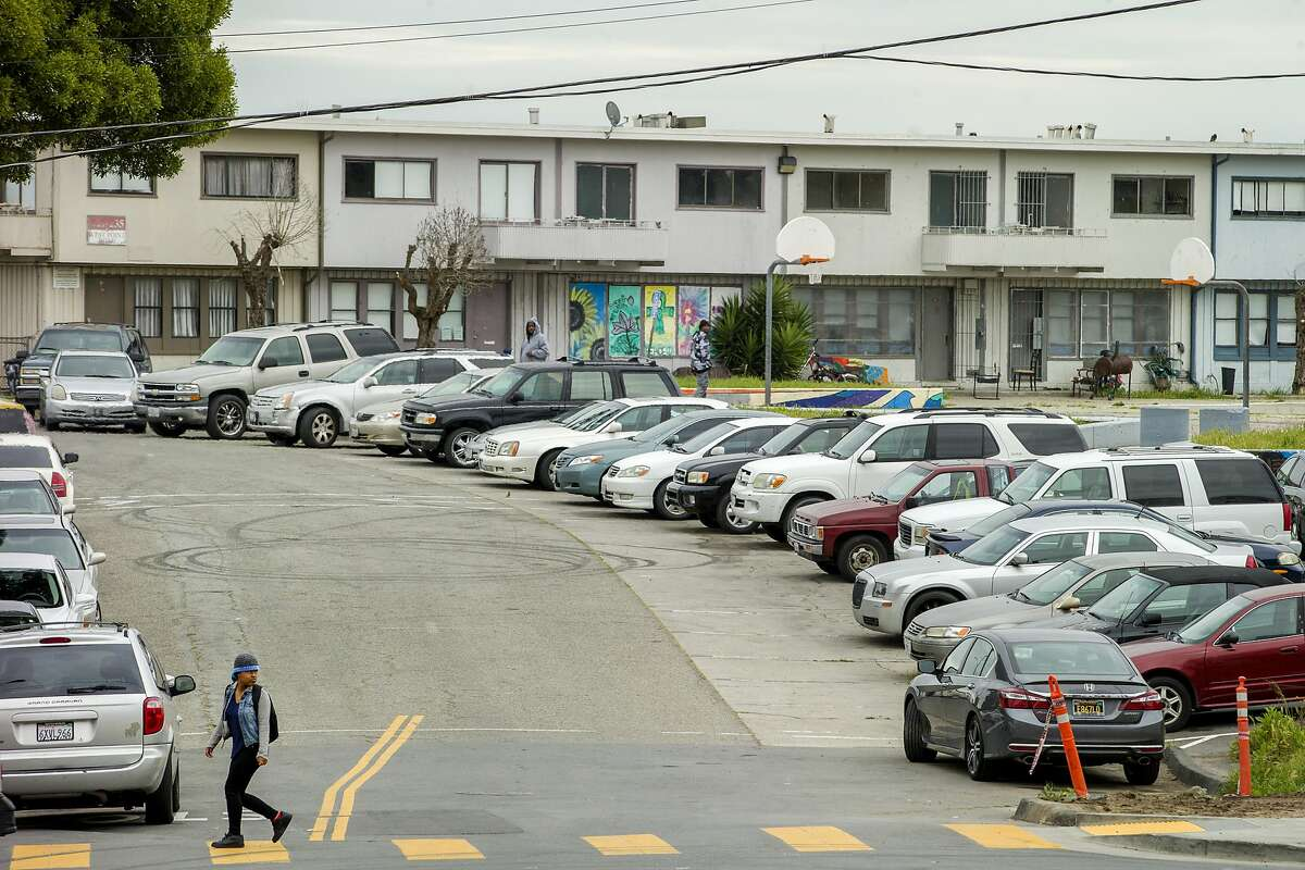 Hunters Point has long been a target for public housing development.