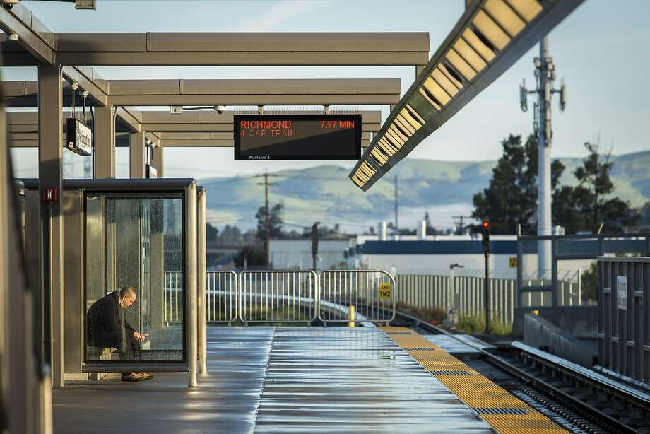 The new Warm Springs/South Fremont BART Station partly drives the deficit. Photo: Eric Kayne, Special To The Chronicle