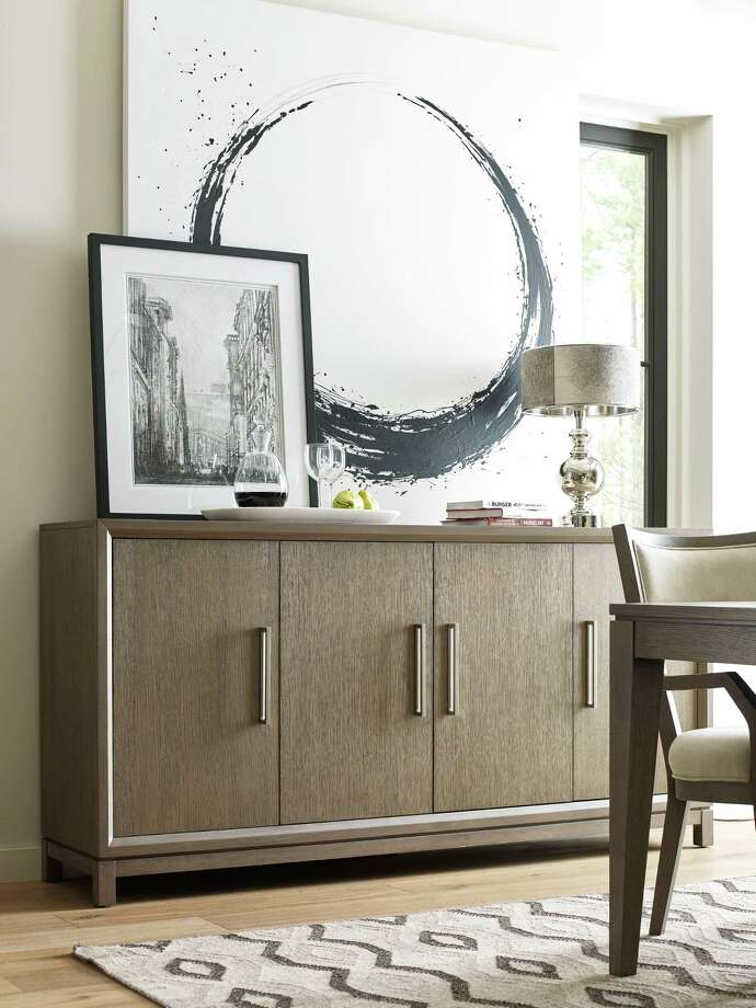 An understated credenza from Rachael Ray's Highline collection. Photo: Rachael Ray Home / Contributed Photo