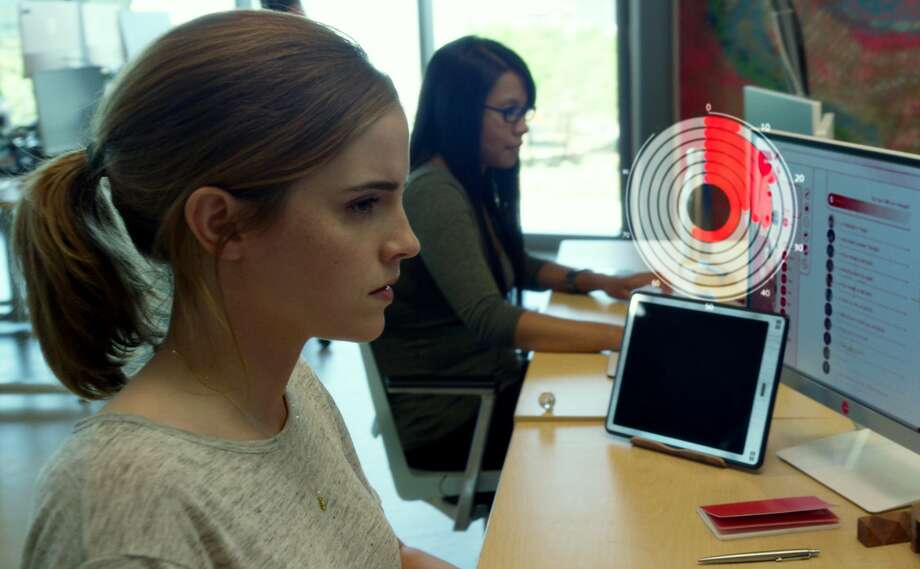 Emma Watson plays an enthusiastic new employee of a tech firm in a movie based on Dave Eggers' novel. Photo: STX Entertainment