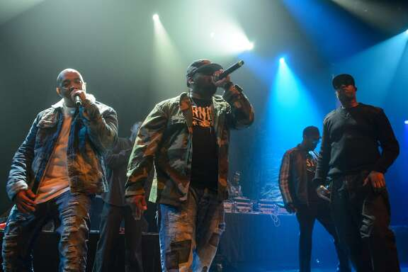 AUSTIN, TX - MARCH 14: Wu Tang Clan perform at the We DC showcase during the SxSW Music Festival at the Moody Theater on March 14, 2017 in Austin, Texas.