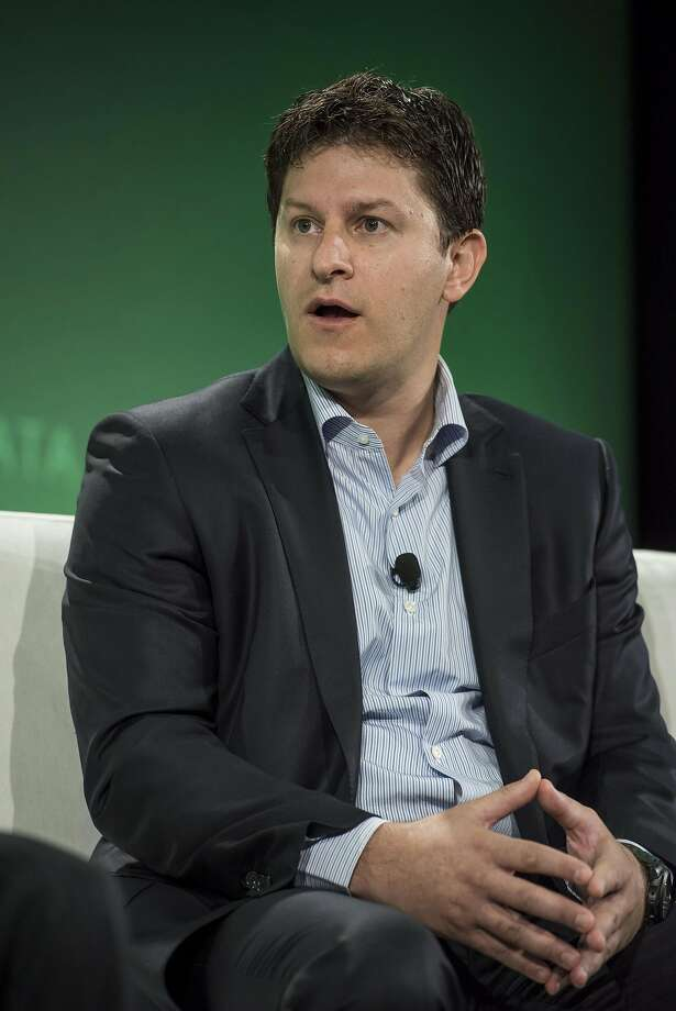 Orion Hindawi, co-founder and chief technology officer of Tanium Inc., speaks during the 2015 Bloomberg Technology Conference in San Francisco, in 2015. Photo: David Paul Morris, Bloomberg