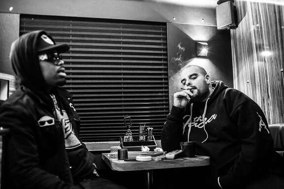 Photos of San Francisco rapper Berner