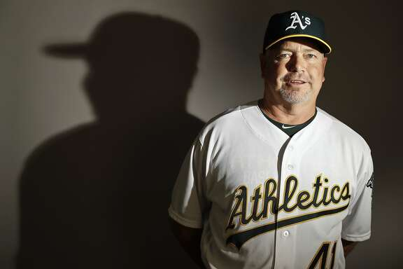 This is a 2017 photo of pitching coach Curt Young of the Oakland Athletics baseball team poses for a portrait. This image reflects the Athletics active roster as of Wednesday, Feb. 22, 2017, when this image was taken. (AP Photo/Chris Carlson)