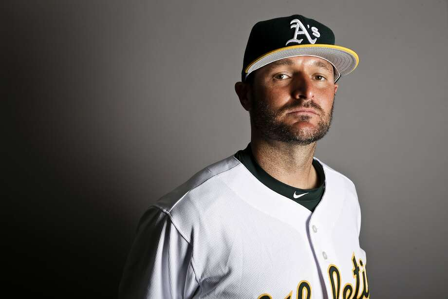 This is a 2017 photo of relief pitcher Chris Smith of the Oakland Athletics baseball team poses for a portrait. This image reflects the Athletics active roster as of Wednesday, Feb. 22, 2017, when this image was taken. (AP Photo/Chris Carlson) Photo: Chris Carlson, AP