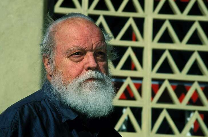 EDGE07-HARRISON  For EDGE07, datebook ; One of the most important figures in 20th century music and a true musical pioneer of the West, Lou Harrison. The 2003 Berkeley Edge Fest closes June 8, 2003 with a memorial tribute concert to the composer. Photo: Eva Soltes ; Inserted into mediagrid on 3/13/03 in .  Eva Soltes / HO  Ran on: 02-05-2005 Composer Lou Harrison--- Sent 02/28/12 02:31:00 as ov-artsandends01_PH with caption: