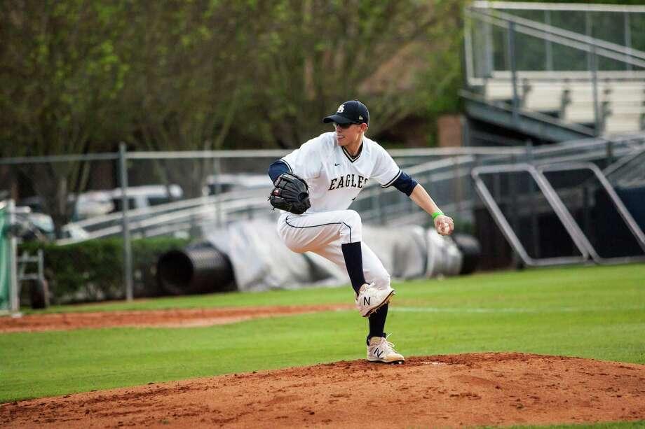 Jackson Ryan is a pitcher at Second Baptist High School. Photo: Sue Berg
