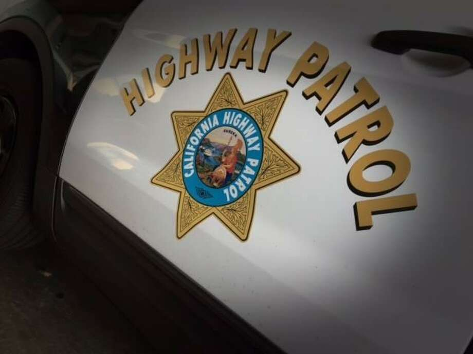 A black SUV was headed northbound on the freeway when it went off the road and into the water about 9:30 a.m., California Highway Patrol Officer Vu Williams said. Photo: California Highway Patrol / California Highway Patrol / / ONLINE_YES