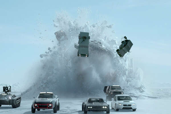 "The action continues in ""The Fate of the Furious."" MUST CREDIT: Universal Pictures"