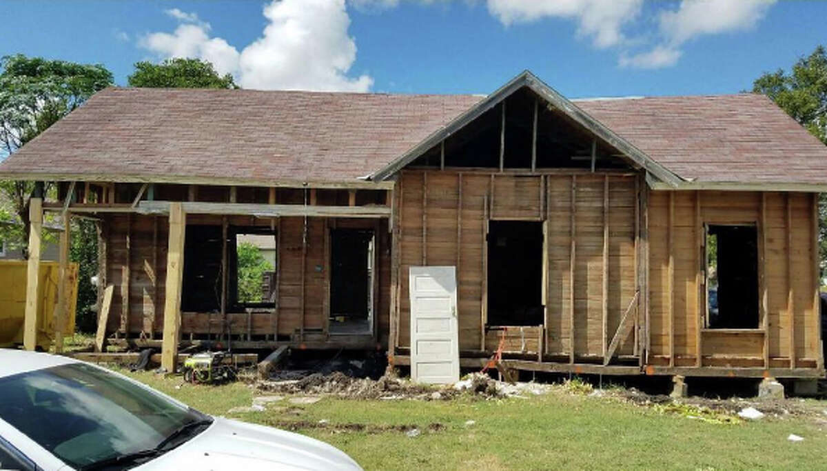 Bianca Fuqua said her husband, Elbert, started work on the Great Depression-era home in October and the moving trucks were unloaded in February. Elbert gutted the entire home and added space, upping the square footage from 900 to 1,400 square feet.