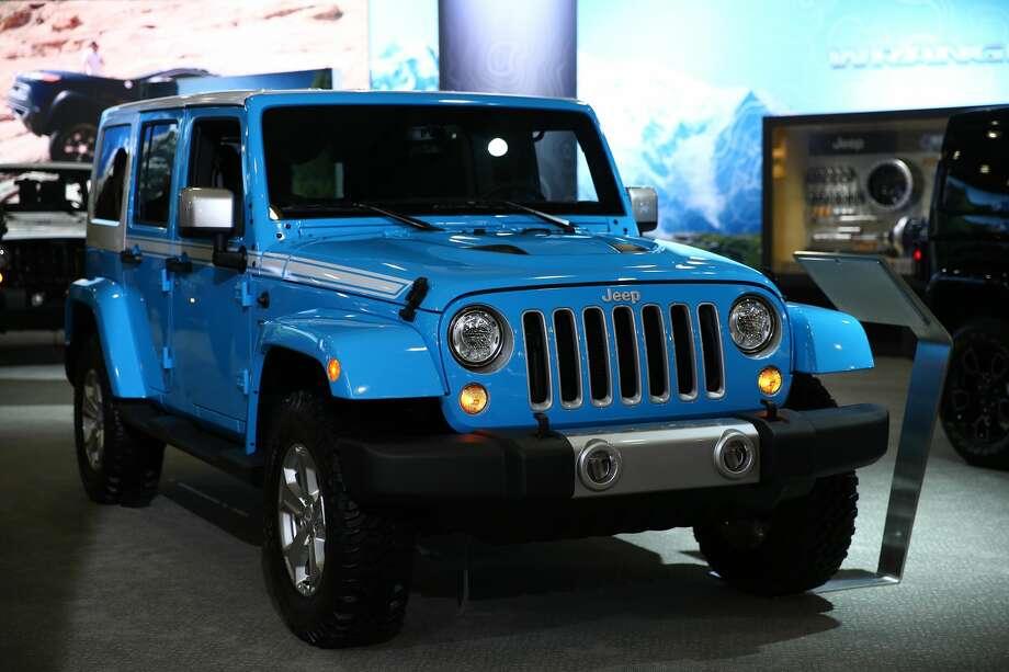 Jeep WranglerYTD sales: 134,428 Photo: Anadolu Agency/Getty Images