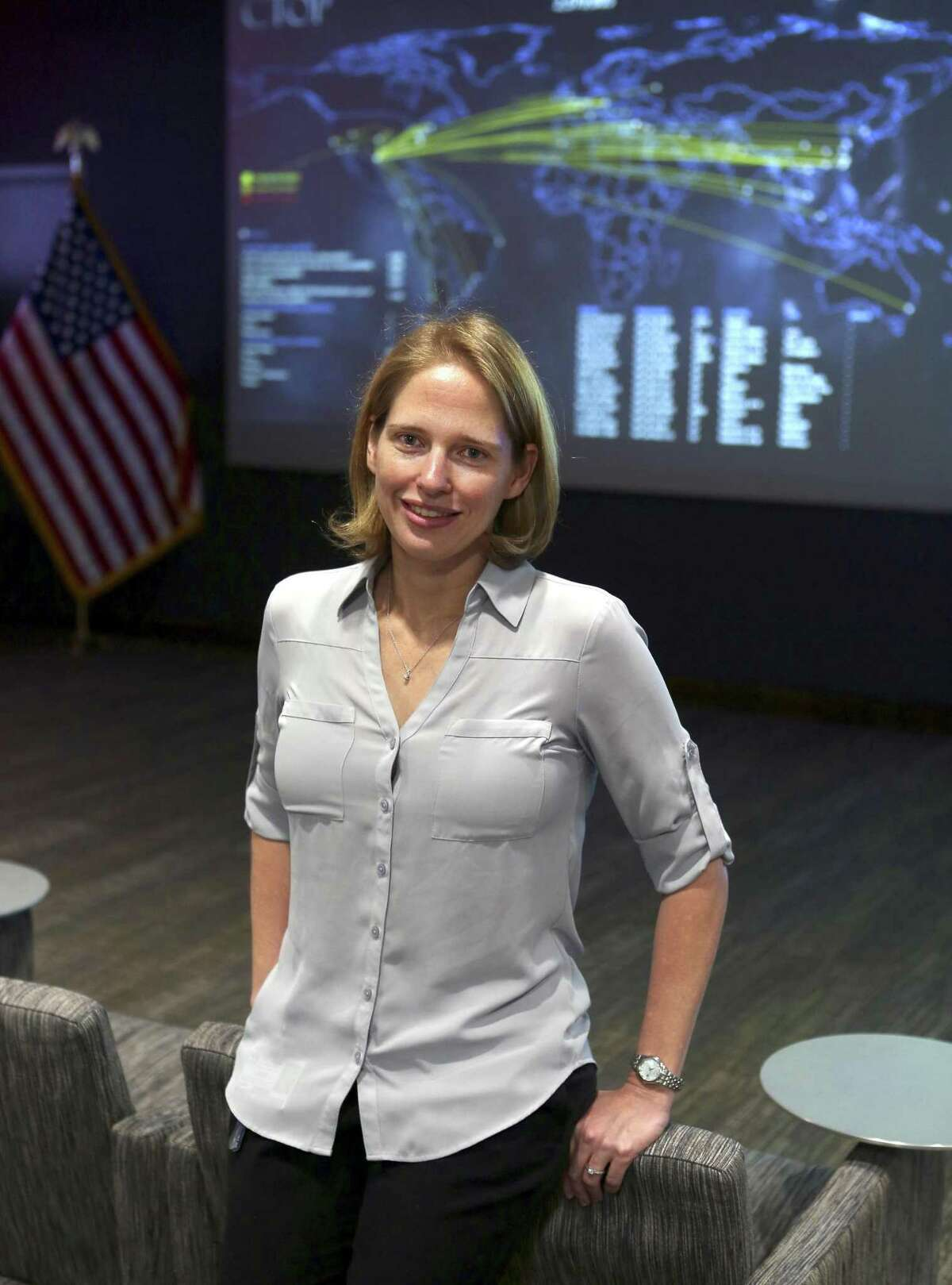 As a USAA cyber security manager, Army veteran Jessica Hazelrigg says her military and intelligence experience is invaluable.