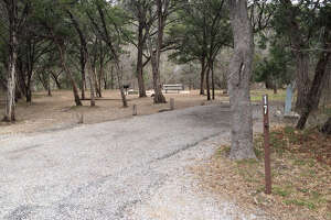 Dinosaur Valley State Park, Site No. 17    Where:  Glen Rose   Cost:  $25/night   Spend a night on the same land that dinosaurs once roamed at this campsite with electric and water hookups, shaded by pine numerous trees and perched upon a bluff overlooking the river, according to Texas Parks and Wildlife Magazine.