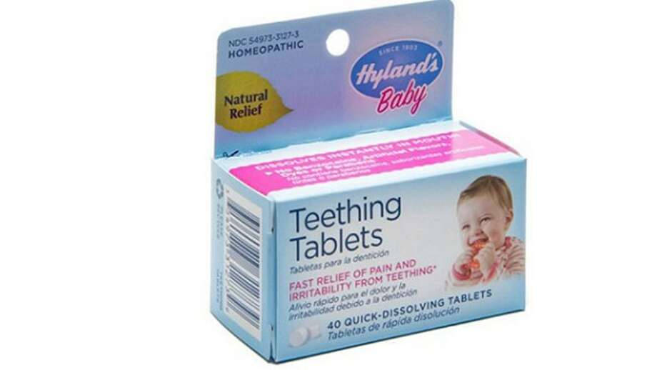Hyland's Baby Teething Tablets is being recalled.>> Click to see other controversial recalls from the last year.  Photo: Courtesy