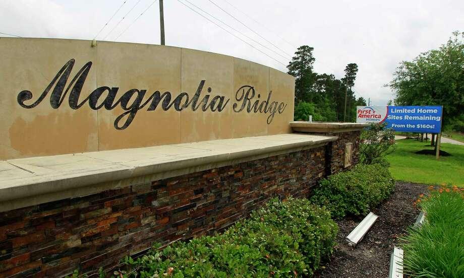 The Magnolia Ridge master planned development is located in Magnolia on FM 1488 near Buddy Riley Boulevard. Photo: Jason Fochtman, Staff Photographer / © 2017 Houston Chronicle