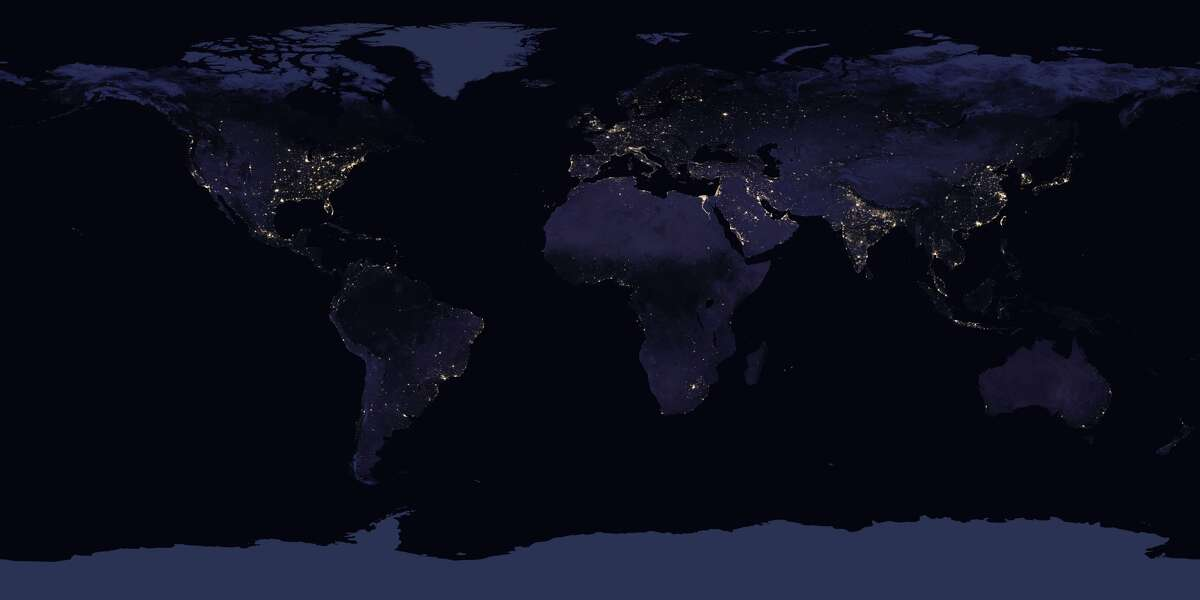 NASA has released stunning new photos of the Earth taken from space.