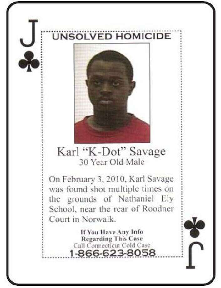 "Karl ""K-Dot"" Savage, 30, died on Feb. 3, 2010 of multiple gunshot wounds. His body was found on the grounds of Nathaniel Ely School, near the rear of Roodner Court Housing Complex. Photo: Contributed Photo"