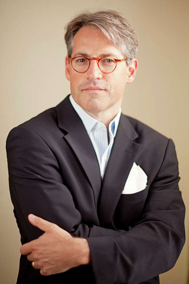 Author Eric Metaxas, a former Danbury resident, speaks at WestConn April 16 about his new book about German Christian theologian Dietrich Bonheffeur, who was executed by the Nazis 65 years ago. Photo: Contributed Photo / The News-Times Contributed