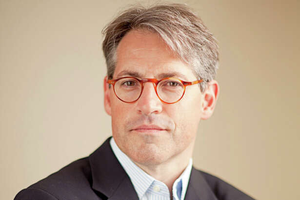 Author Eric Metaxas, a former Danbury resident, speaks at WestConn April 16 about his new book about German Christian theologian Dietrich Bonheffeur, who was executed by the Nazis 65 years ago.