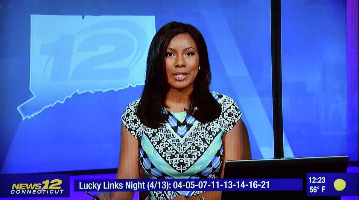 Former News 12 New Jersey anchor Vanessa Freeman appears on Altice's News 12 Connecticut Optimum channel on Friday, April 14, 2017.