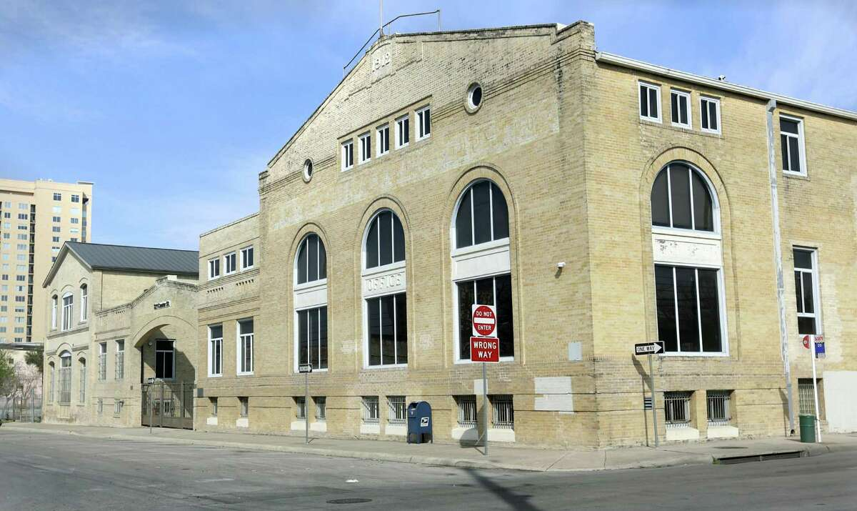 The G.J. Sutton building at 321 Center St. in San Antonio.