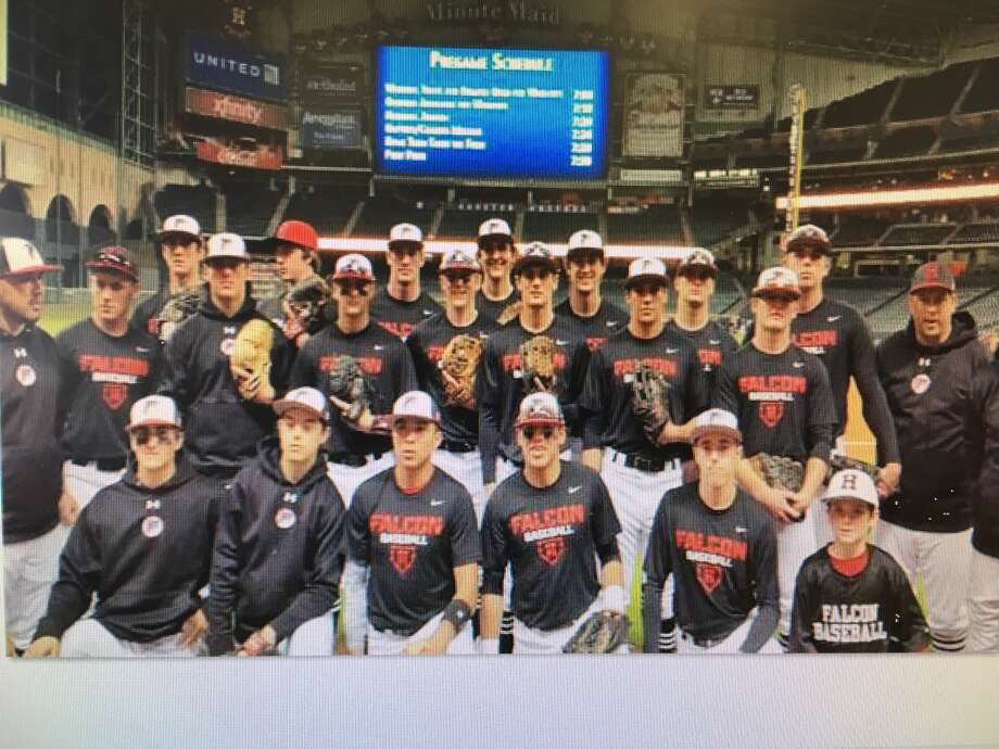 The Hargrave Faclons at Minute Maid Park for their game in 2016 Photo: Hargrave Baseball