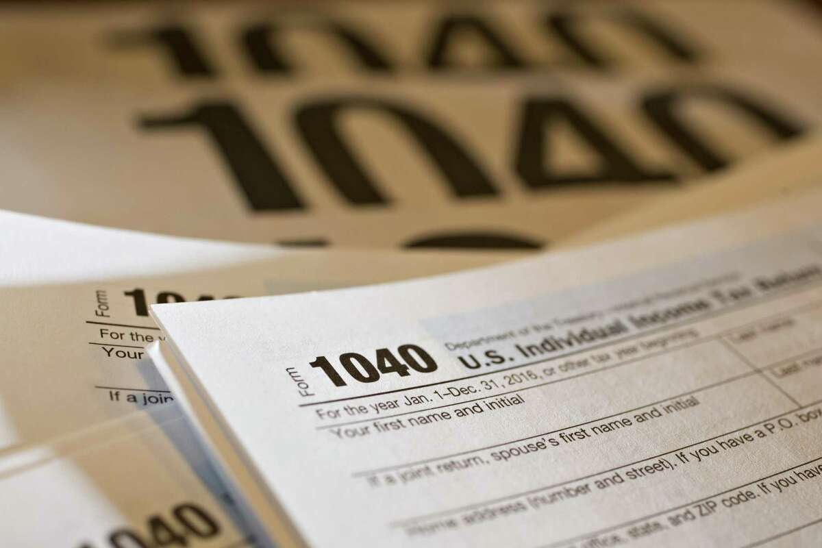 The usual April 15 deadline falls on Saturday this year. That would normally push the deadline to Monday. However, Monday is a holiday in the District of Columbia, so by law, the filing deadline is extended until Tuesday.